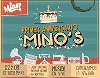 Mino's Cagua Flyer