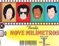 ARTE: BANDA NOVE MILÍMETROS - DF