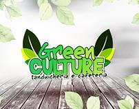 Logo e Cardápio Green Culture