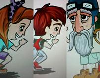 Personajes para videojuego