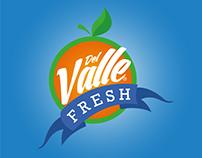 Rediseño logo Del Valle Fresh