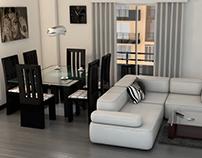 Render apartamento por sectores