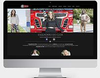 Website de Fotografia - Esquadrão do Click - Joomla