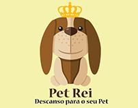 Mascote logo Pet Rei