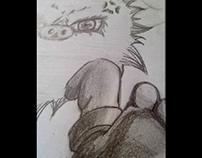 Ilustración de pokemon