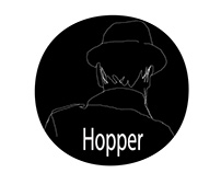 Los Hopper EP: Artwork