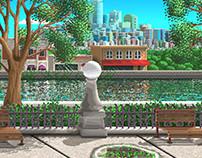 Apocalipse Nerd - Environment Design for Game