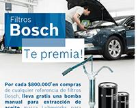 Mailing Promocional Filtros Bosch