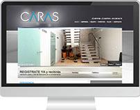 Web Site Caras Odontología Especializada