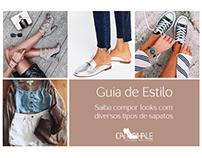 E-book para loja virtual de calçados.