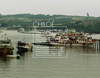 Viaje a Chiloé, fotografías y diseño.