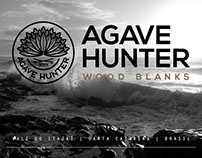 Agave Hunter Wood Blanks - Branding Project