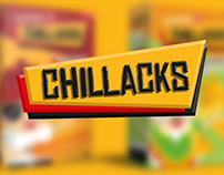 Chillacks Snacks  | Diseño de Packaging + Ilustración