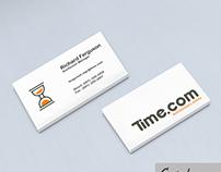 Construción Logotipo Time.com LLC in Toronto. Canada.