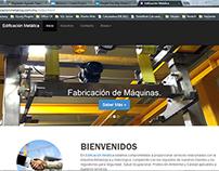 Página Web Edificación Metálica