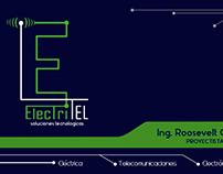 Diseño de Tarjeta de Presentación ElectriTel