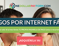 One Dollar Pay Form Promo Website