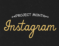 Project Month Instagram