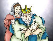 Livro ilustrado - Santa Catarina de Alexandria