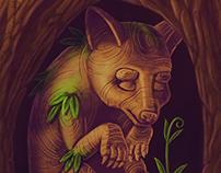 Perrito del Árbol