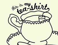 This is my TEA-shirt