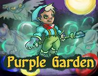 Purple Garden Cover