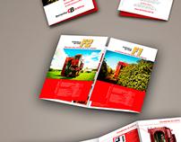 Folder 3 dobras tipo janela | Grupo Bertanha