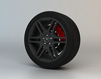 Mercedes Benz Wheel.