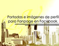 Portadas e imágenes de perfil para fanpage en Facebook.