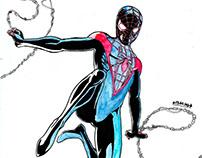 Spider-Man Miles Morales (fanart)