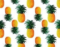 Exclusive Pineapple Pattern