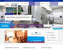 Site Institucional - Construtura CEO