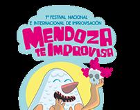 Diseño de imagen para Mendoza te Improvisa