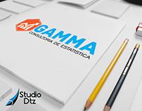 Branding GAMMA CONSULTORIA ESTATÍSTICA.