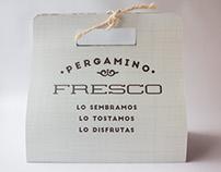 Diseño de empaque para Café Pergamino