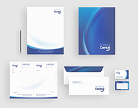 Corporate identity. Dental Clinic