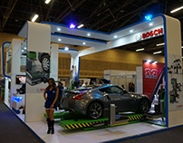 Desarrollo Stand Bosch Feria Mecanik 2016