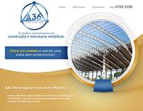 Landing Page - A36 Construções e Estruturas Metálicas