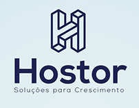 Creative Logo Design - Hostor