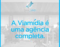 Social Media Design - Viamídia Publicidade