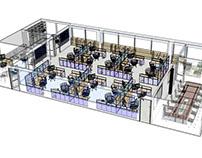Office 3D Model.