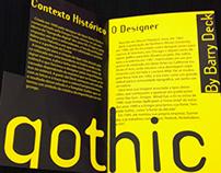 Catálogo Tipográfico: Template Gothic