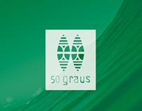 50 Graus Surf Skate Shop - Brand Identity