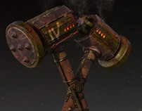 Weapon Mace for game