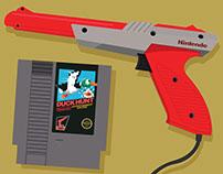 NES Duck Hunt & Zapper