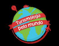 Turismóloga Pelo Mundo - Logotipos