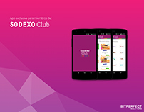 Sodexo Club App