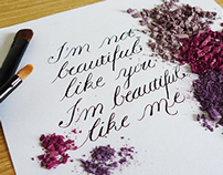 Calligraphy | Lettering | illustration