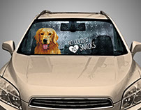 ADS DOG CHOW CAR