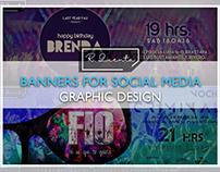 BANNERS FOR SOCIAL MEDIA
